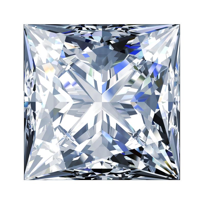 Diamond Princess Cut South Bay Gold